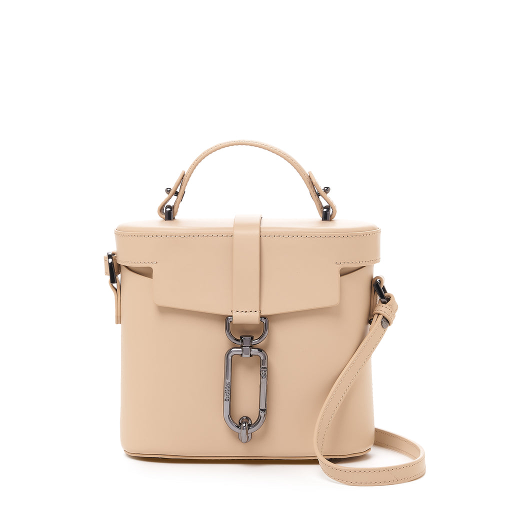 brooklyn canteen crossbody fawn front