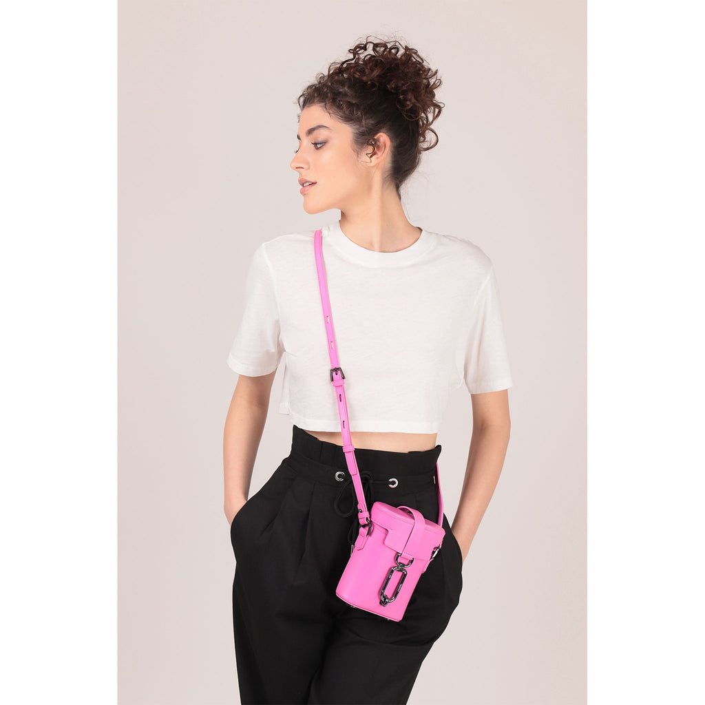 brooklyn crossbody dragonfruit on figure
