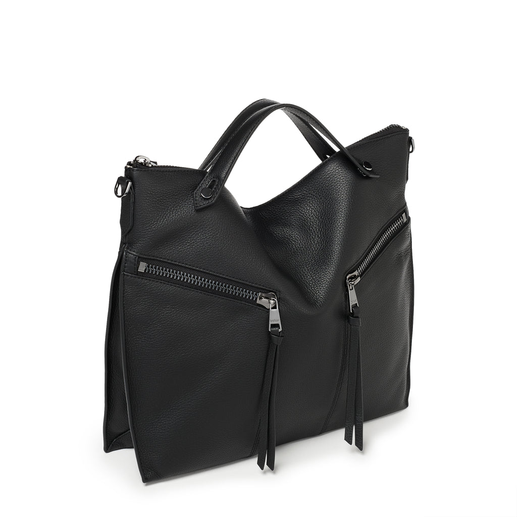 trigger convertible hobo black angle