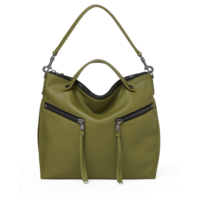 trigger convertible hobo moss front