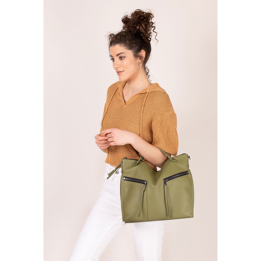 trigger convertible hobo moss on figure top handle