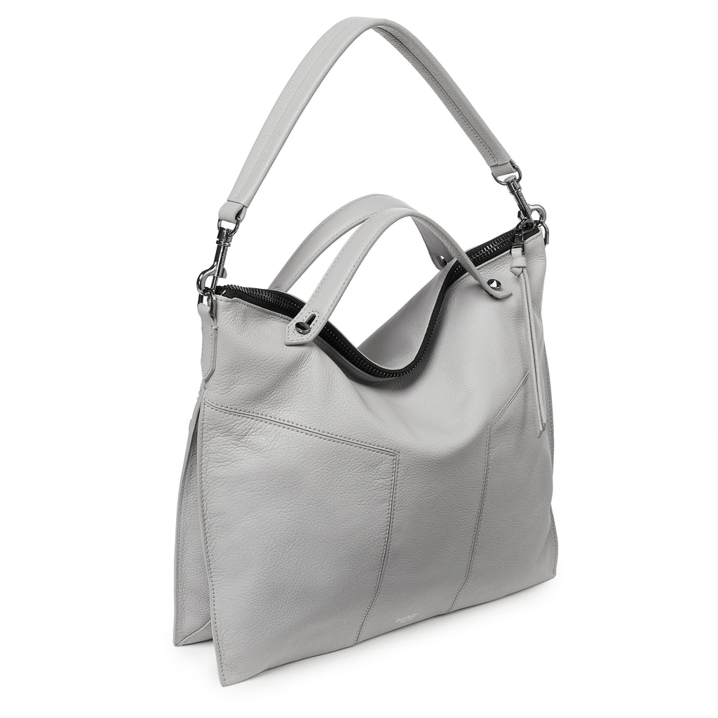 trigger convertible hobo silver grey back strap