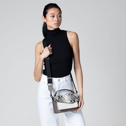 Cobble Hill Crossbody (Snake) Alternate View