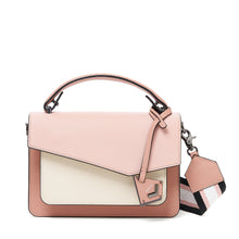 botkier cobble hill crossbody misty rose combo front