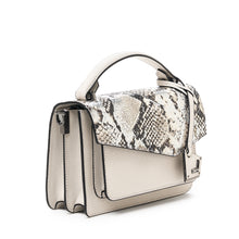 botkier cobble hill crossbody metallic snake front angle