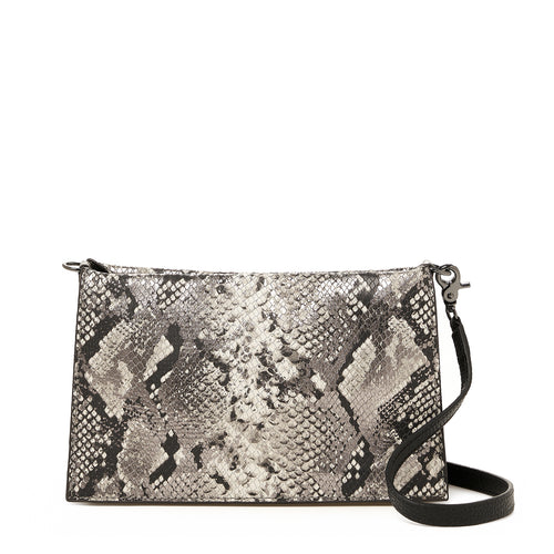 botkier greenpoint crossbody in metallic snake