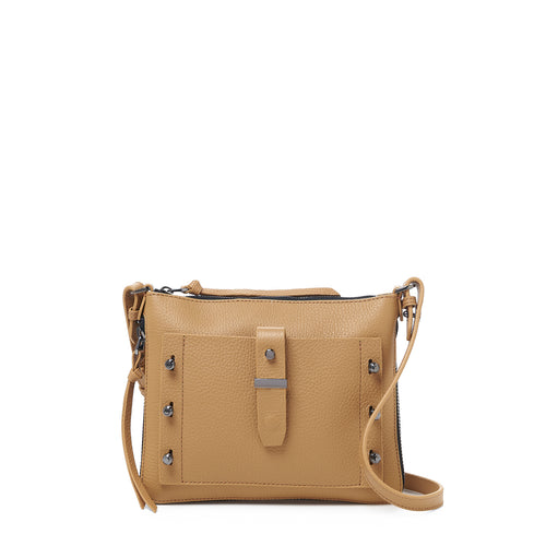 botkier warren expandable crossbody in camel brown