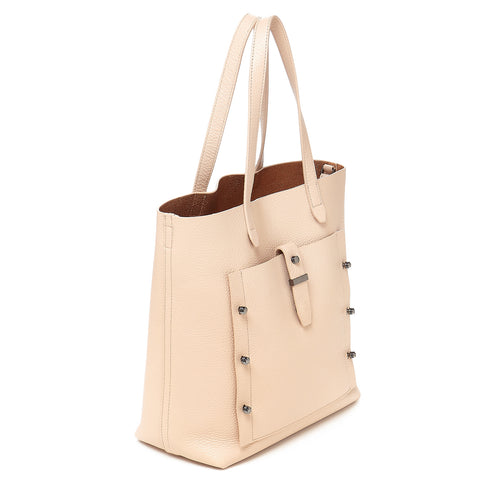 botkier warren tote in beige Alternate View