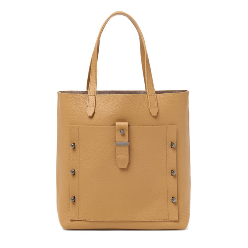 botkier warren tote in camel brown