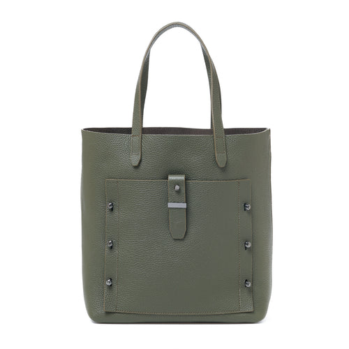 botkier warren tote in military green