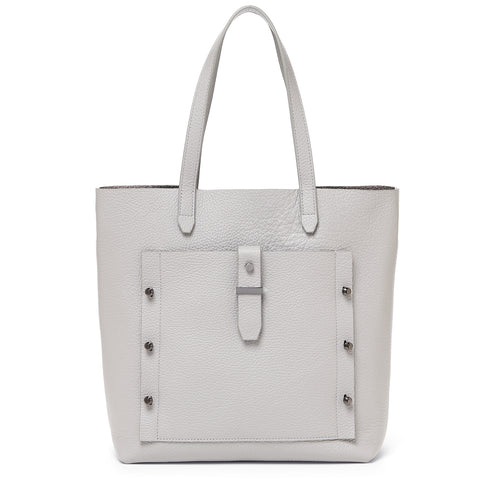 botkier warren tote in silver grey