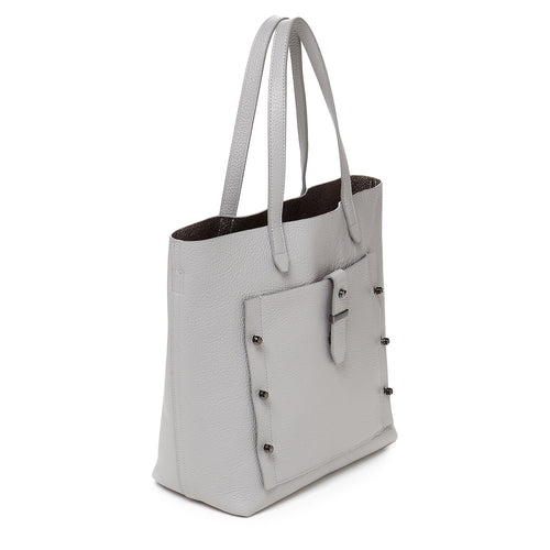 botkier warren tote in silver grey Alternate View