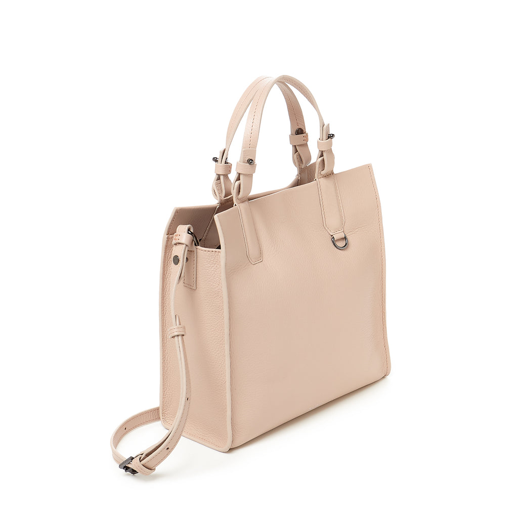 botkier greenpoint satchel in beige