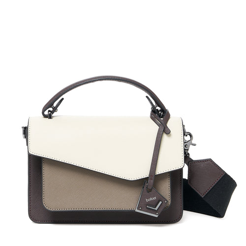 botkier cobble hill crossbody java combo front