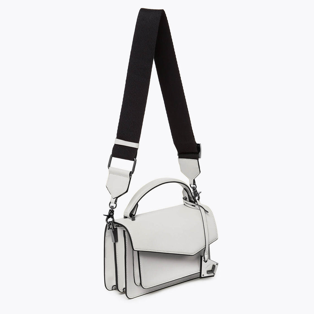 botkier cobble hill crossbody dove webbed strap