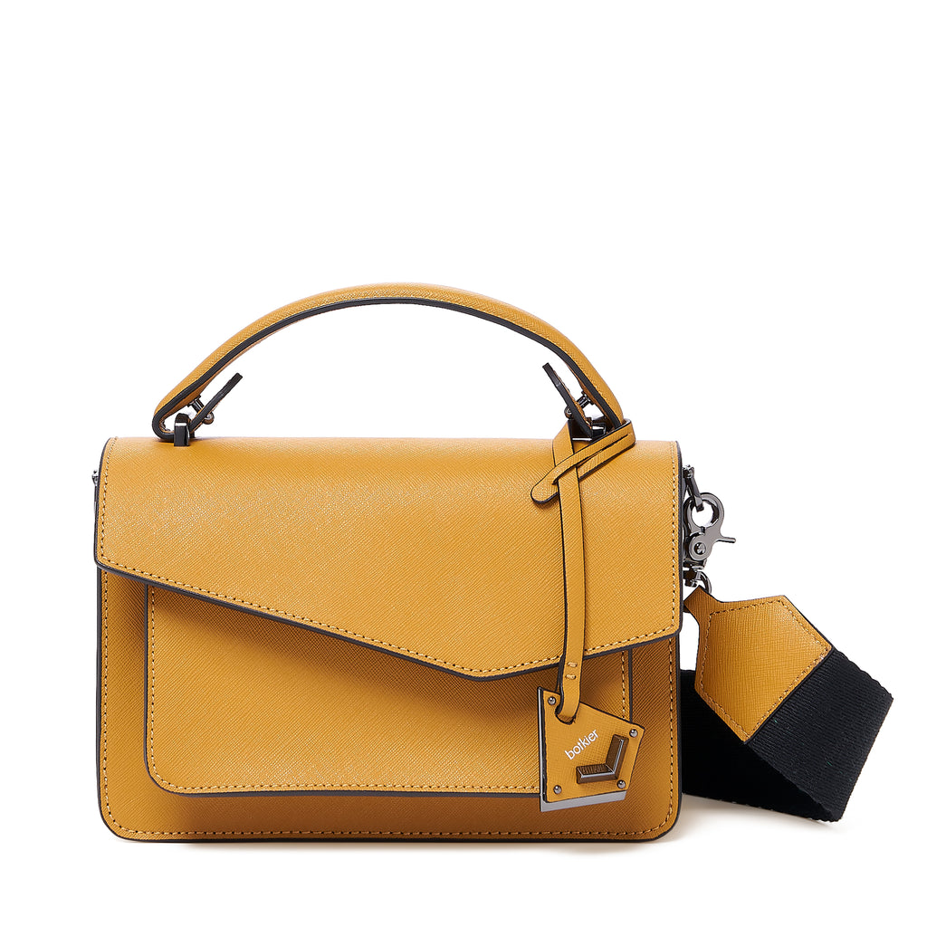 botkier cobble hill crossbody golden front