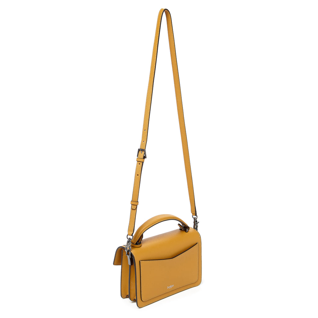 botkier cobble hill crossbody golden leather strap