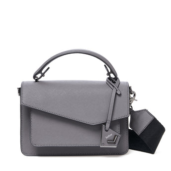 botkier cobble hill crossbody smoke front