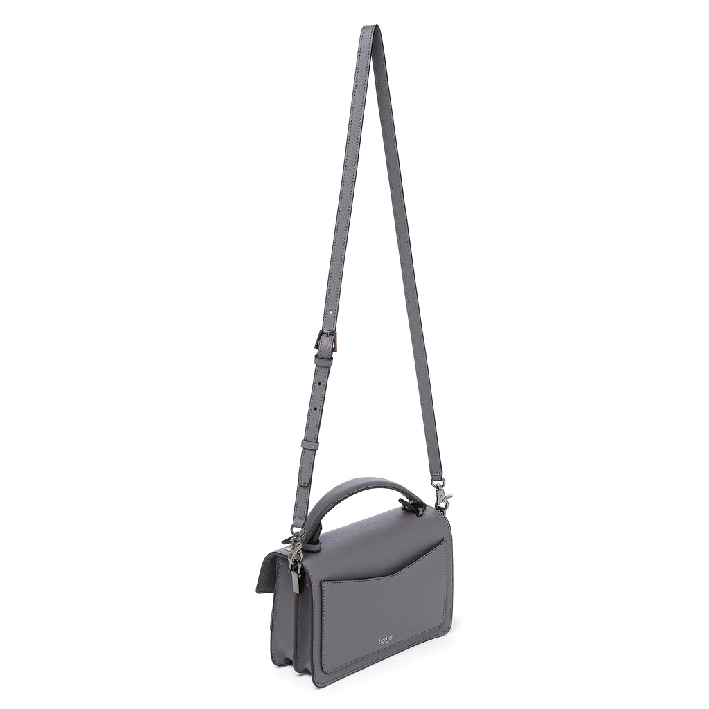 botkier cobble hill crossbody smoke leather strap