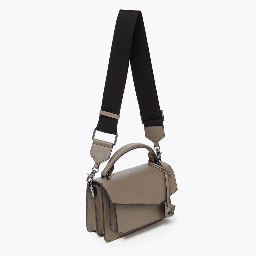 botkier cobble hill crossbody truffle webbed strap