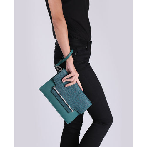 Lennox Flap Clutch (Croco) Alternate View