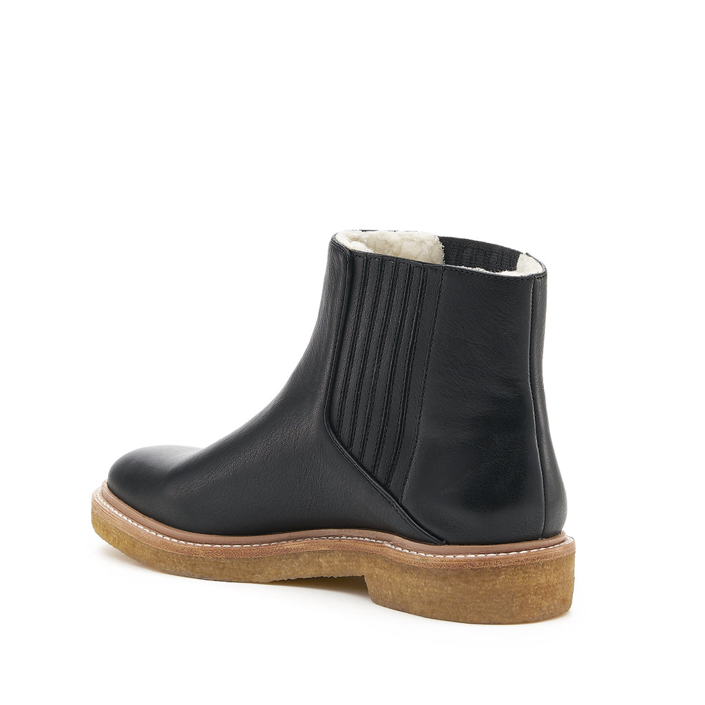 botkier chelsea boot black back angle