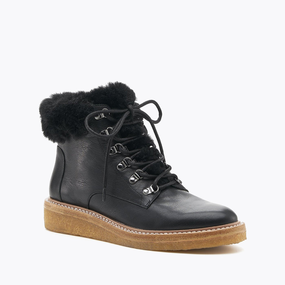 botkier winter boot black front angle