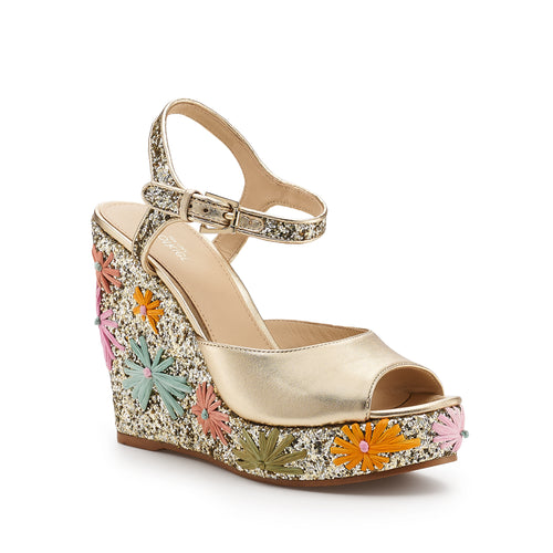 botkier jessie glitter wedge in pastel floral Alternate View