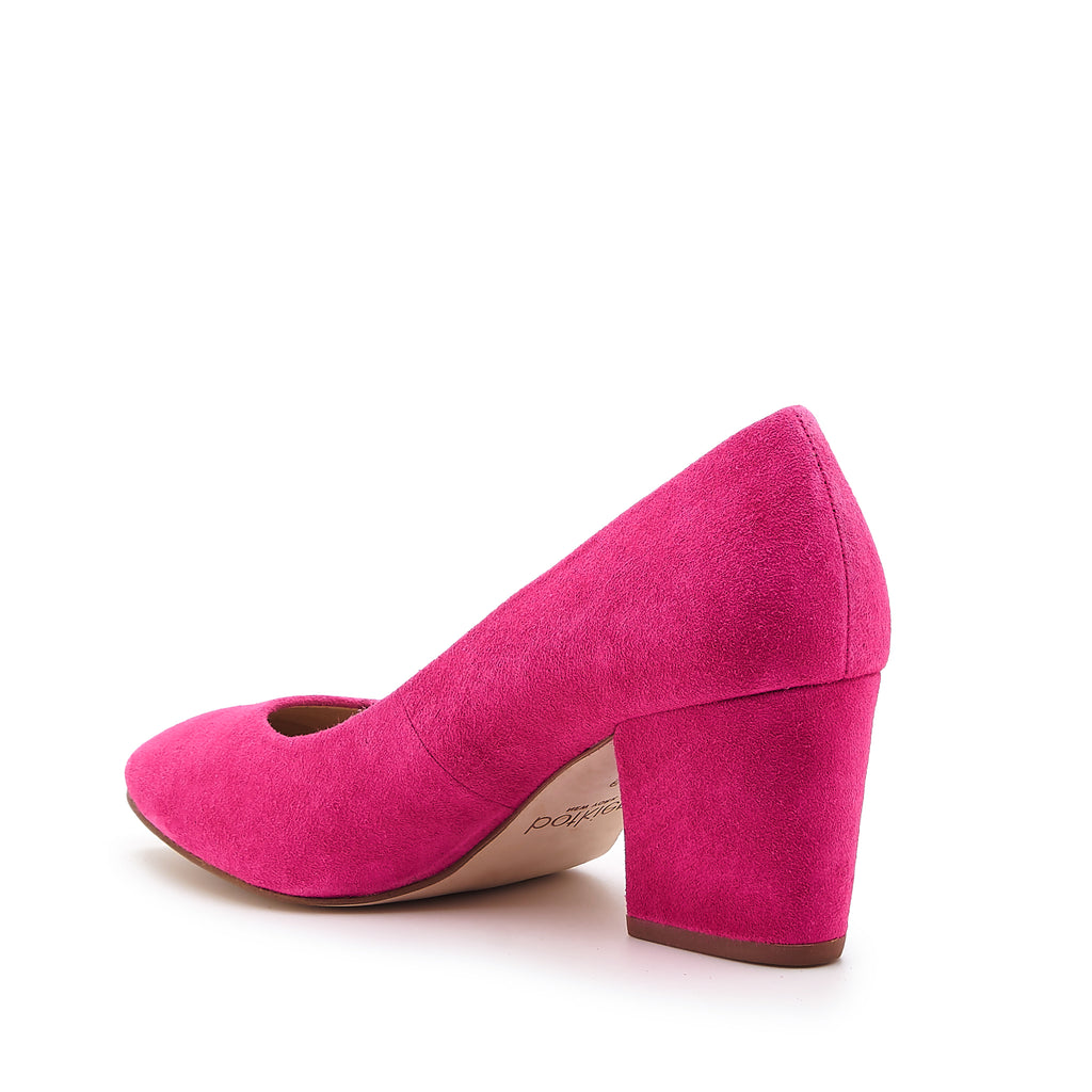 stella pump hot pink angle