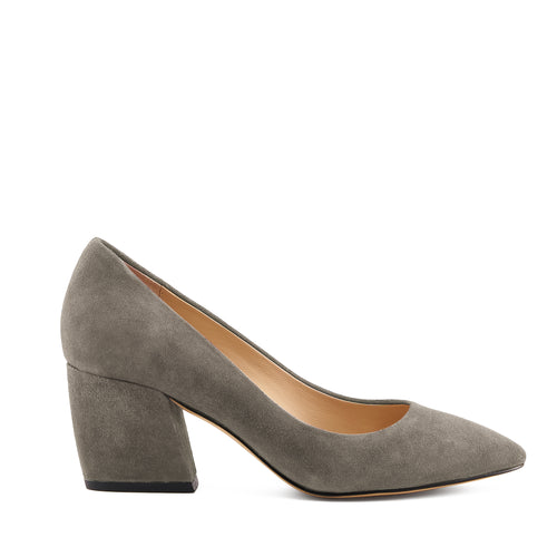 botkier stella almond toe low heel pump in winter grey