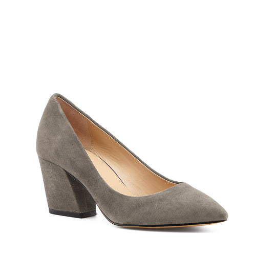 botkier stella almond toe low heel pump in winter grey Alternate View