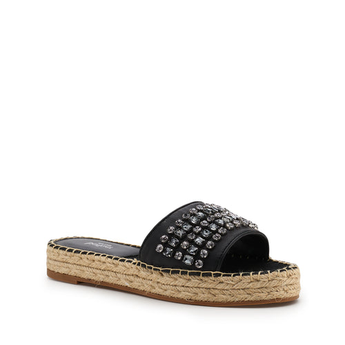 botkier julie espadrille in black stone Alternate View