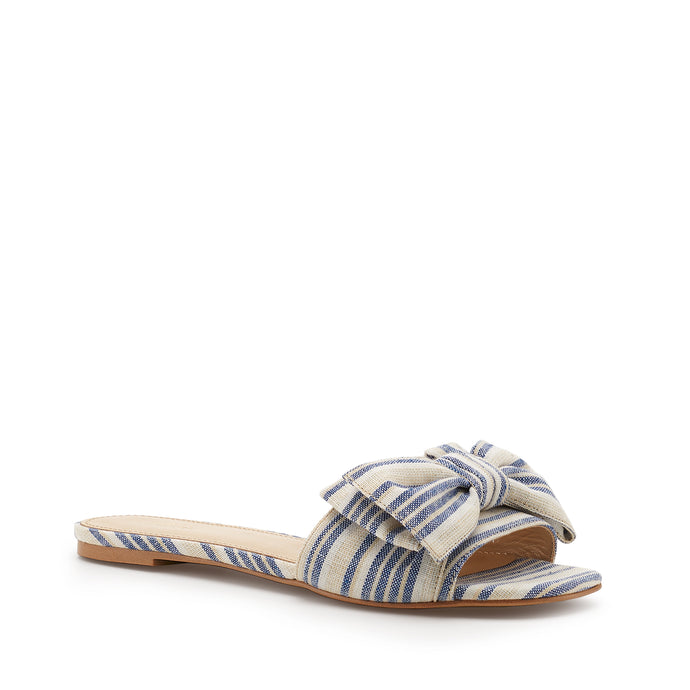 marilyn slide blue stripe