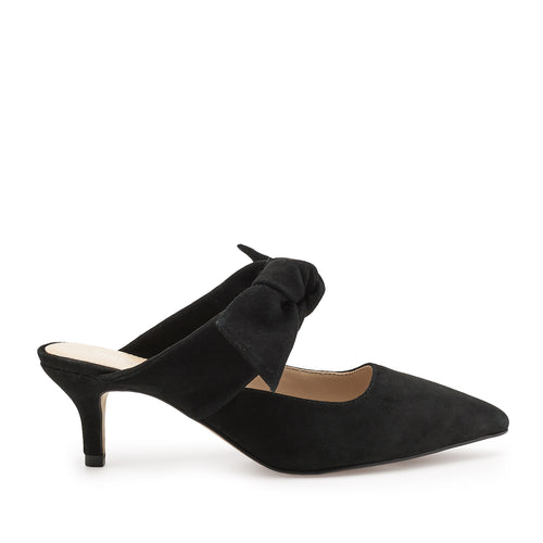 pina kitten heel black side