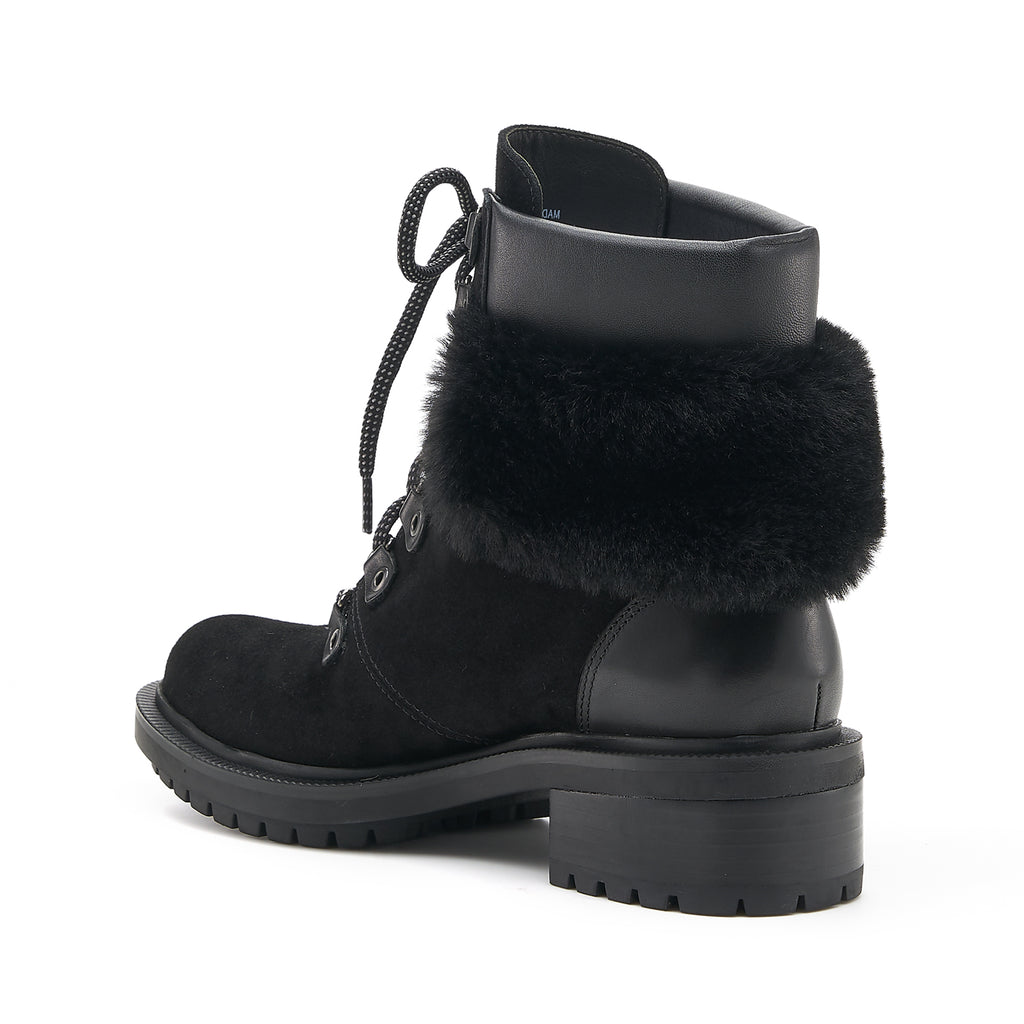 botkier madigan boot black fur back angle