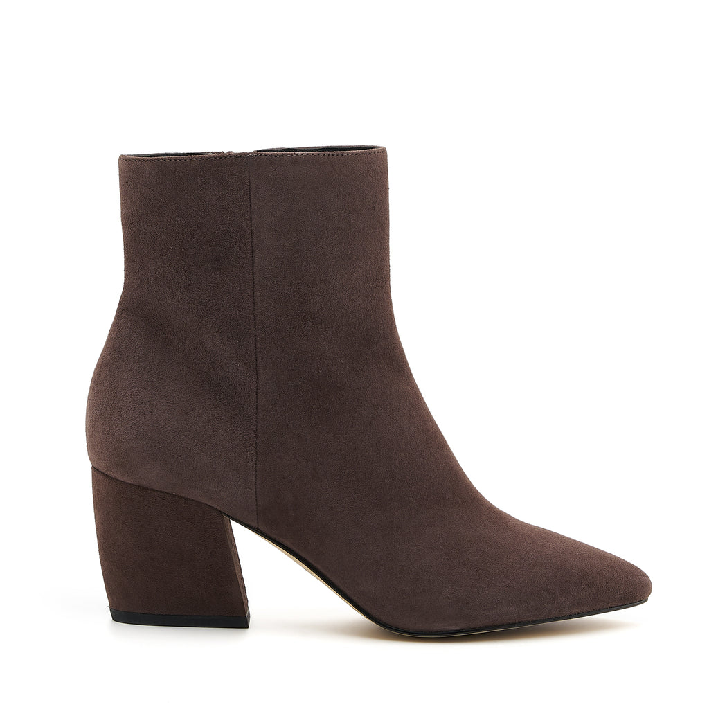 botkier sasha bootie dark brown side