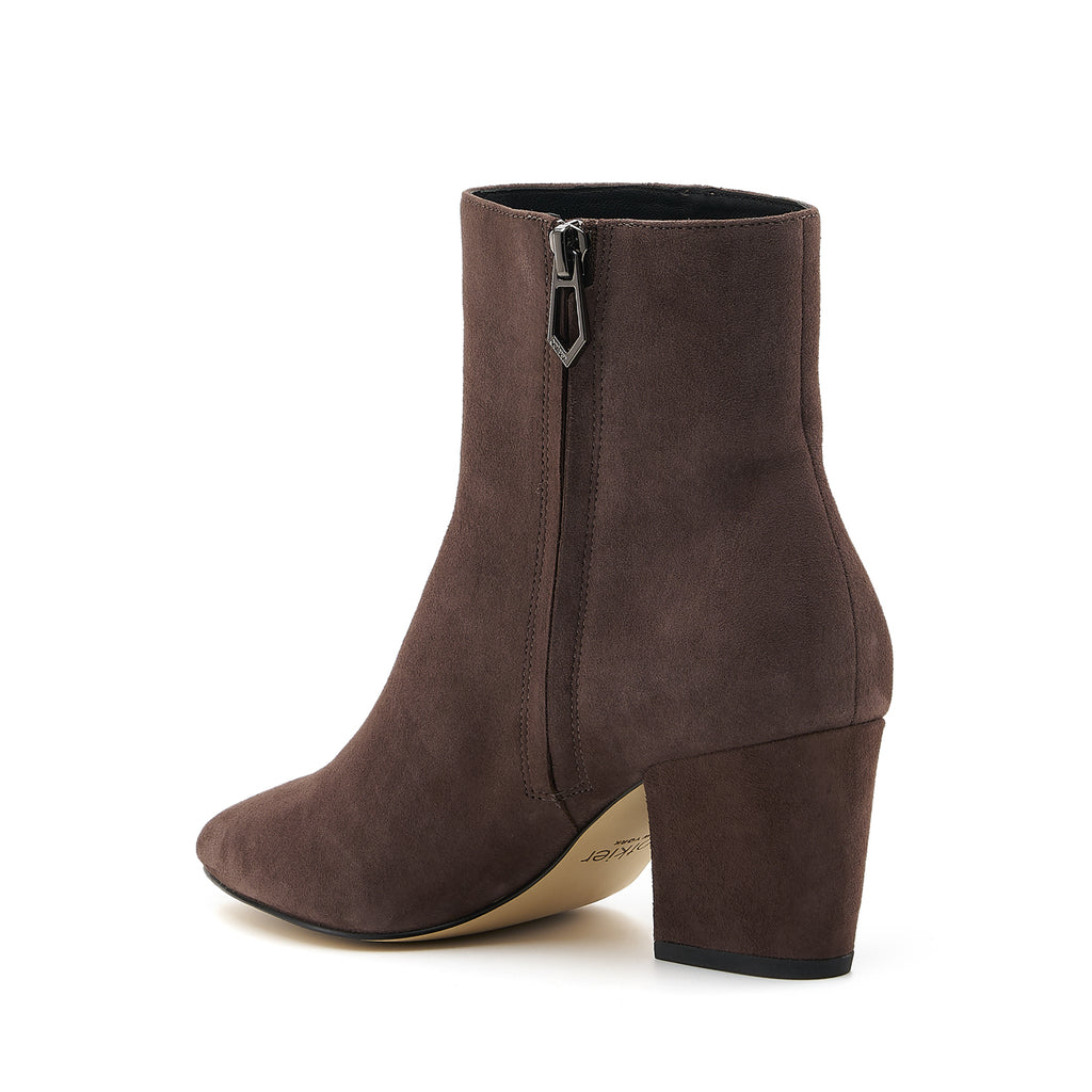 botkier sasha bootie dark brown back angle