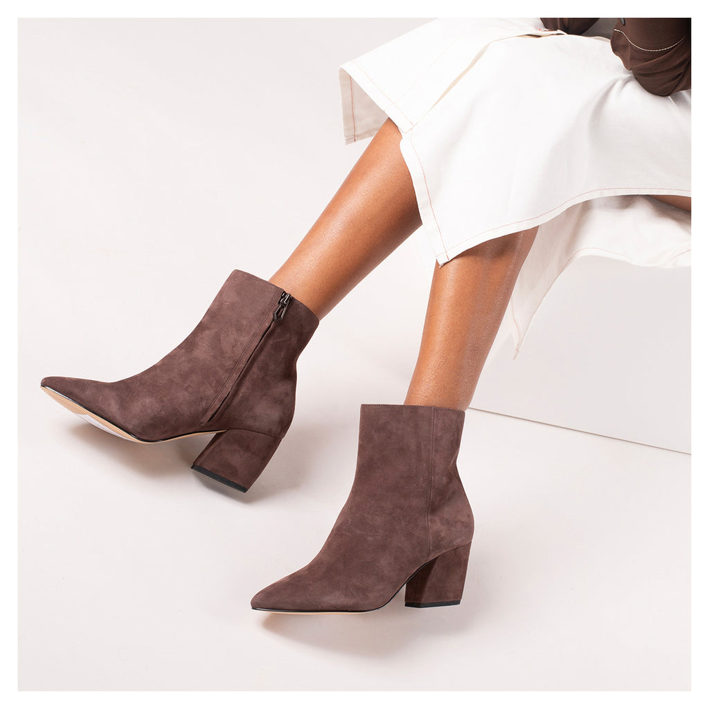 botkier sasha bootie dark brown