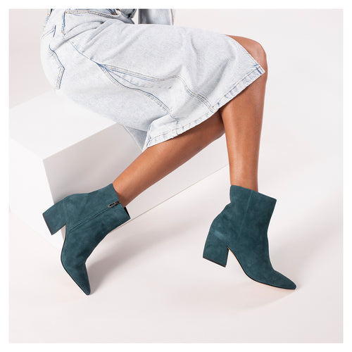botkier sasha bootie teel green side Alternate View
