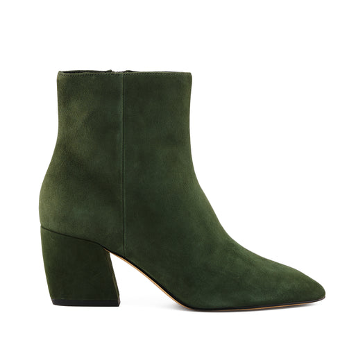 botkier sasha almond toe bootie in winter green