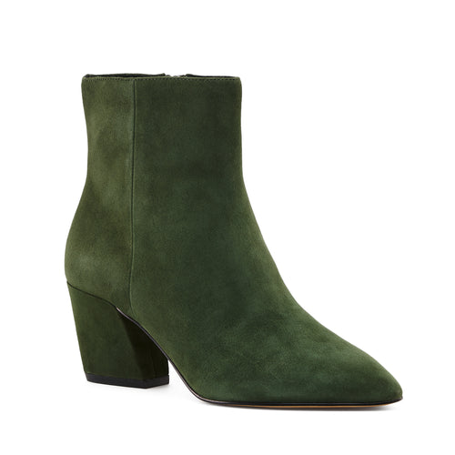 botkier sasha almond toe bootie in winter green Alternate View