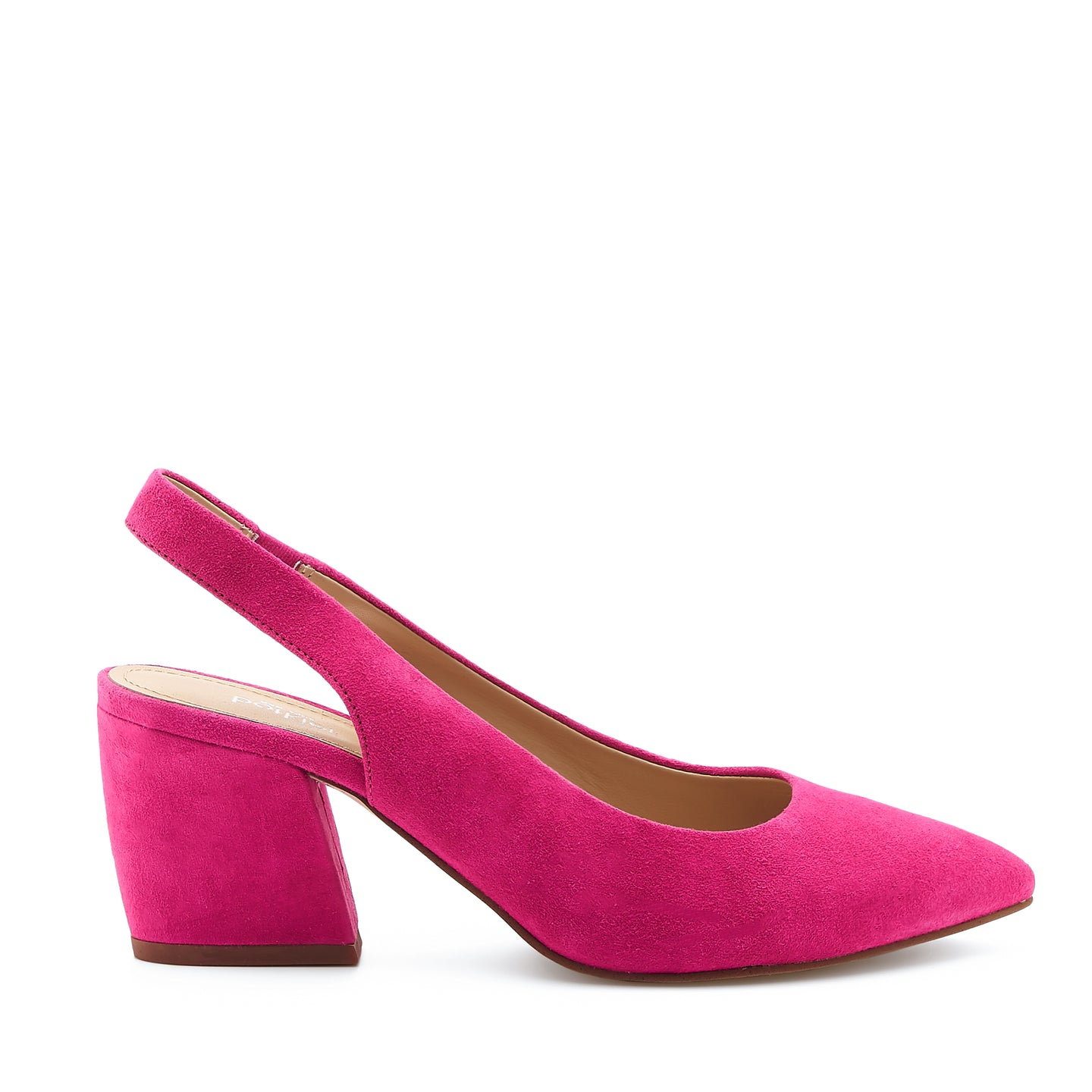 shayla slingback hot pink side