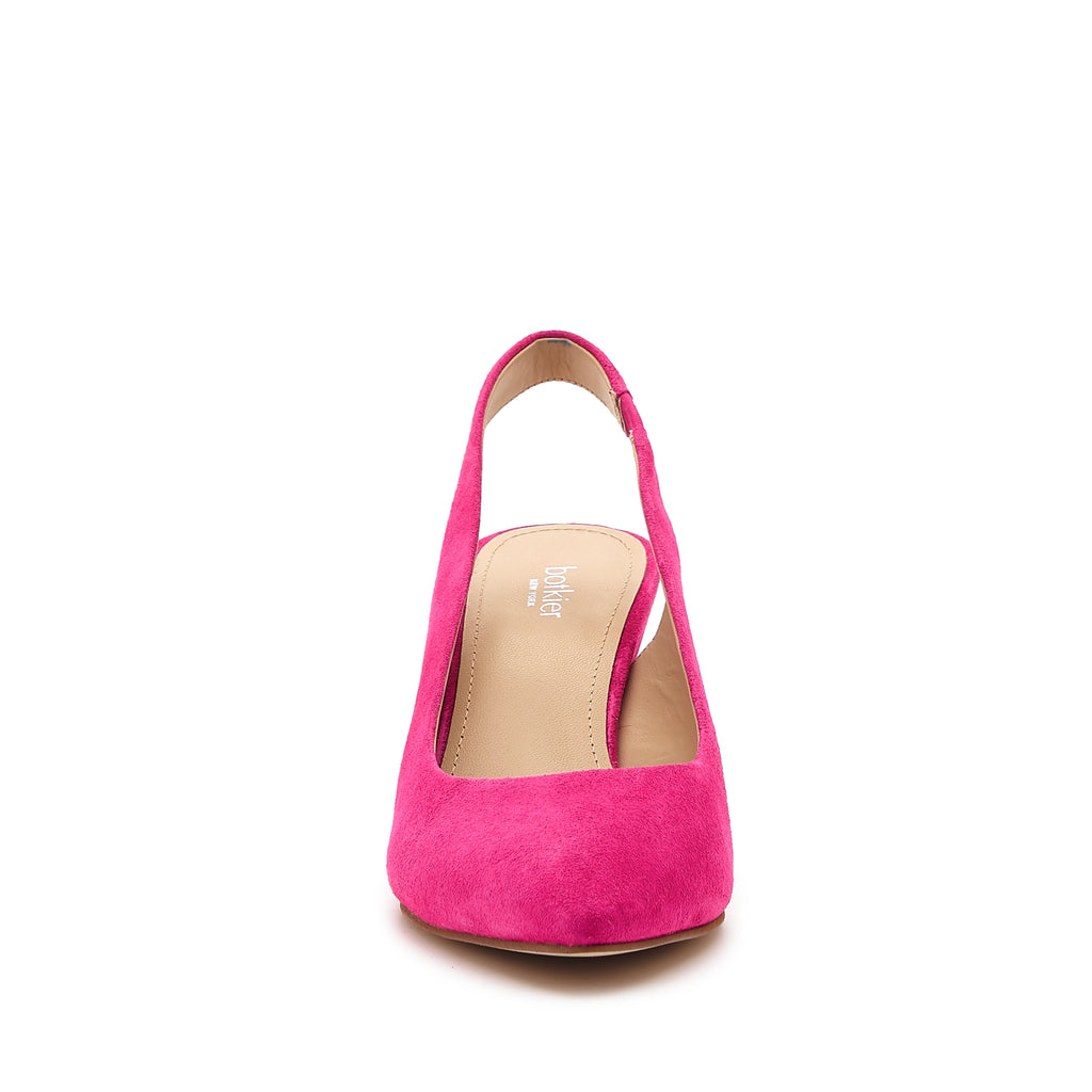 shayla slingback hot pink front