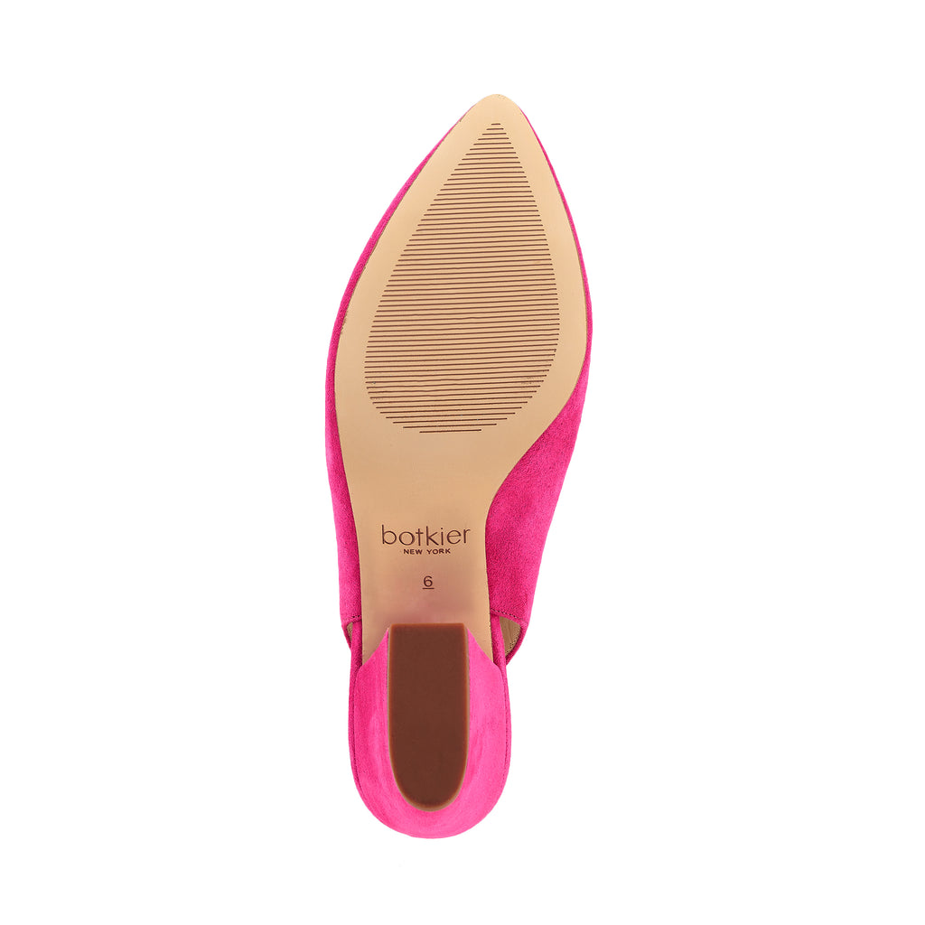 shayla slingback hot pink bottom