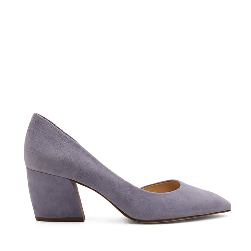 botkier sena d'orsay low heel almond toe pump in purple haze