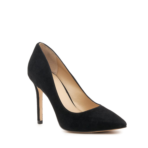 botkier marci almond toe pump in black  Alternate View