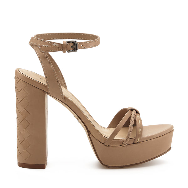 petra heel taupe side