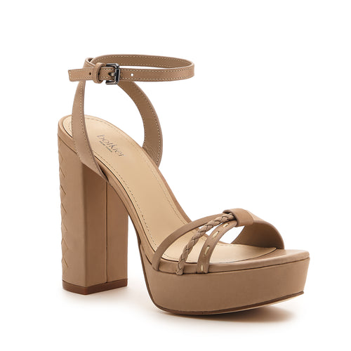 petra heel taupe side Alternate View