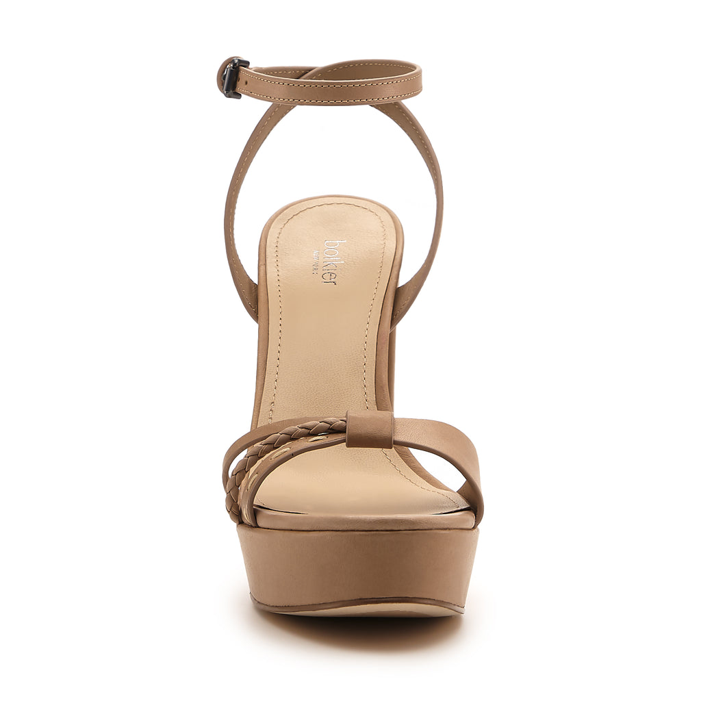 petra heel taupe front