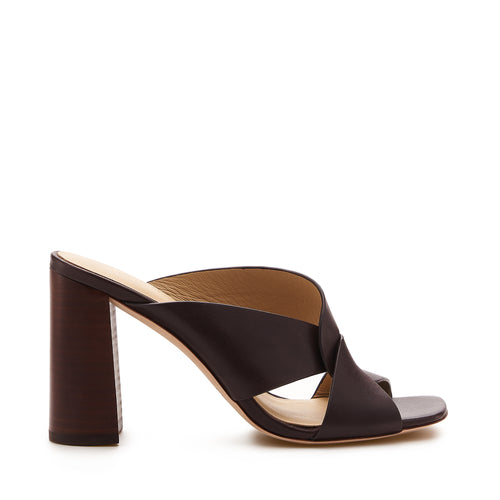 raven twist sandal cocoa brown side
